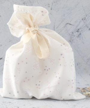 pochon étoile coton bio