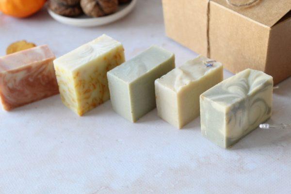 Coffret mini savons